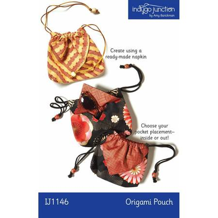 Origami Pouch Pattern, Indygo Junction