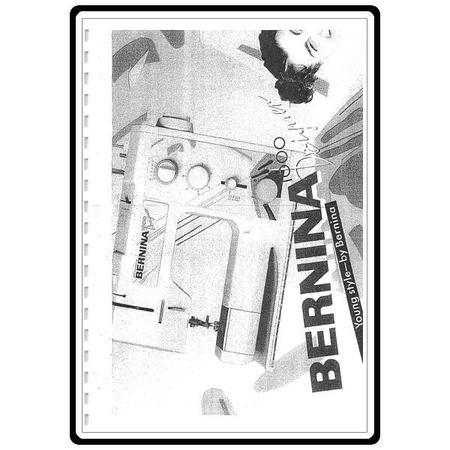 Instruction Manual, Bernina 1000