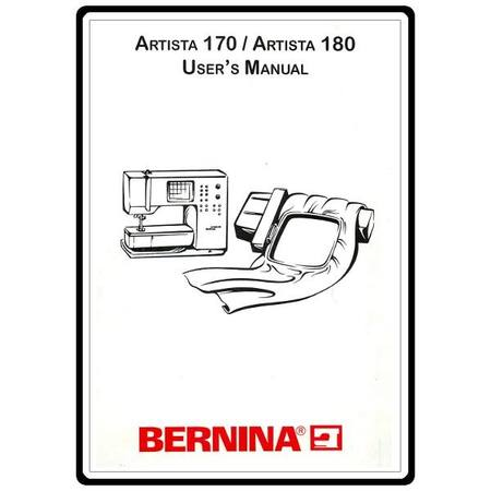 instruction manual bernina artista 170 sewing parts online rh sewingpartsonline com Machine Embroidery Bernina Artista 630 bernina artista 180 manual online free