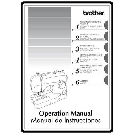 Instruction Manual, Brother BM2700AS
