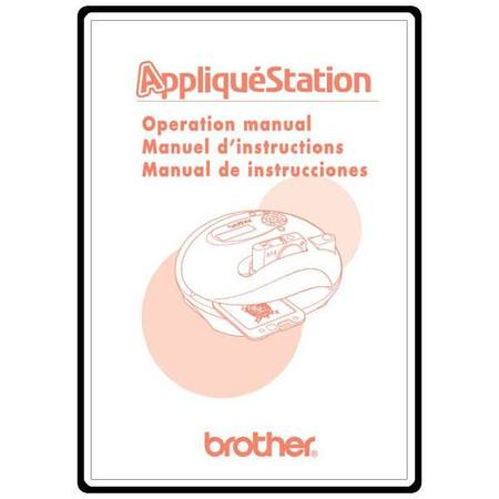 Instruction Manual, Brother E-100M