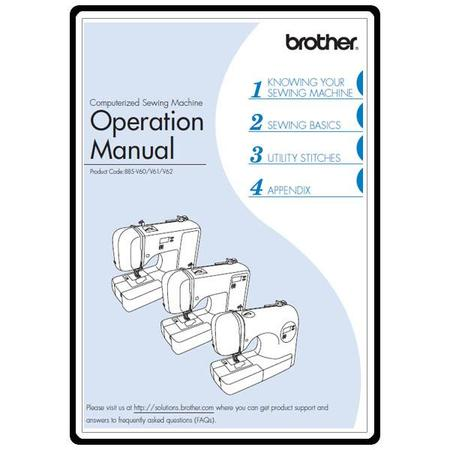 Instruction Manual, Brother HS-2500