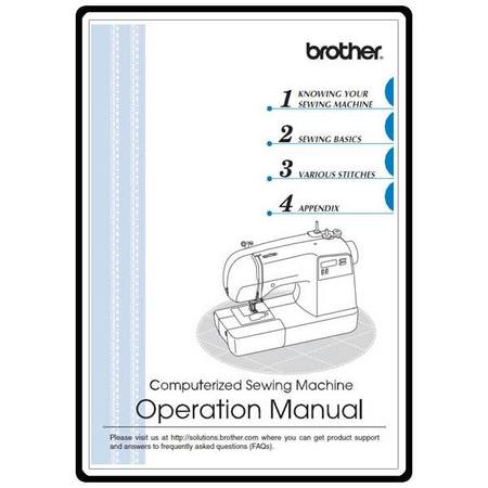 Instruction Manual, Brother HS-3000