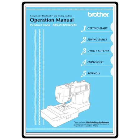 Instruction Manual, Brother LB-6800PRW