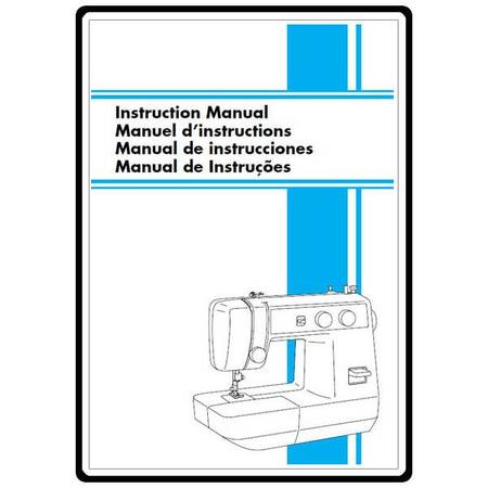 Instruction Manual, Brother LS-1217B