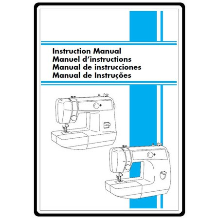Instruction Manual, Brother LS-2220