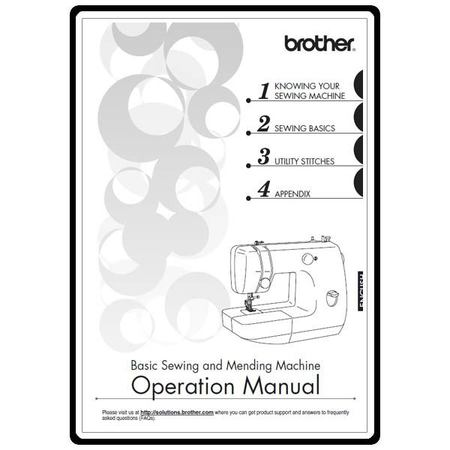 Instruction Manual, Brother LX-3125