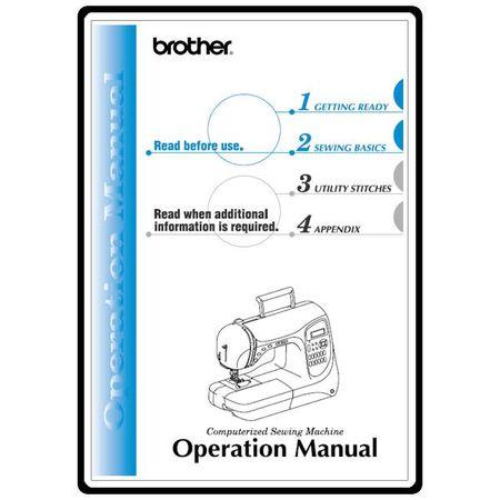 Instruction Manual, Brother NX-400Q