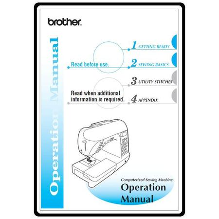 Instruction Manual, Brother Innov-is NX-800