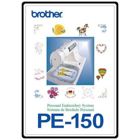Instruction Manual, Brother PE-150