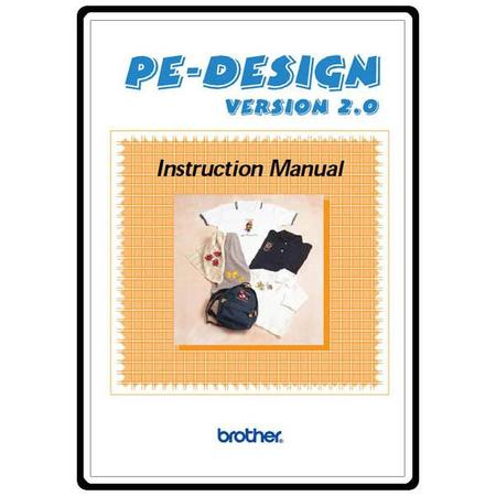 Instruction Manual, Brother PE-DESIGN2.0