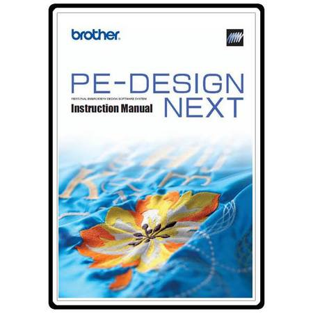 Instruction Manual, Brother PEDESIGNNEXT