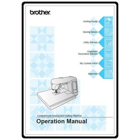 Instruction Manual, Brother QC-1000
