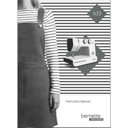 Instruction Manual, Bernette B33