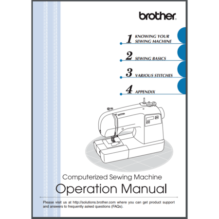 Instruction Manual, Brother BX2925PRW
