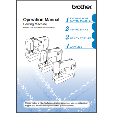 Instruction Manual, Brother CE7070PRW