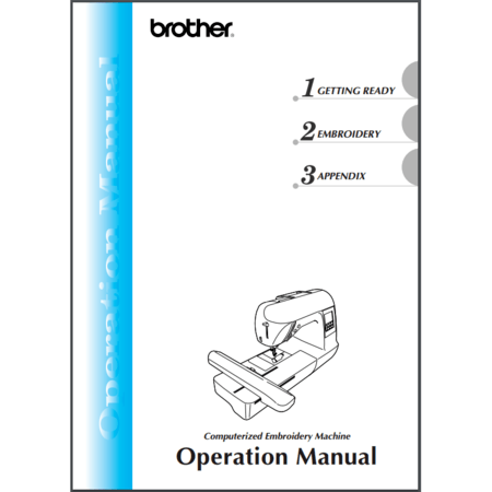 Instruction Manual, Brother DZ820E