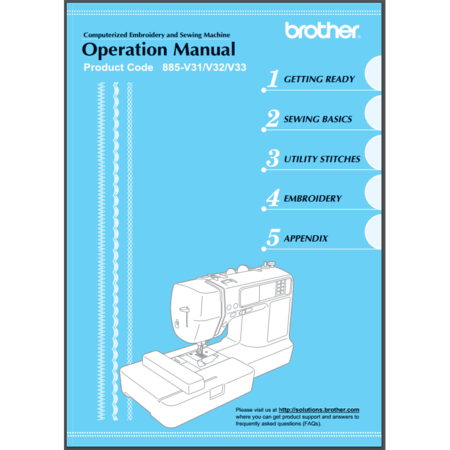 Instruction Manual, Brother LB6800