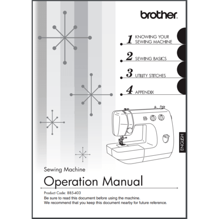 Instruction Manual Brother LX40 Sewing Parts Online Stunning Brother Sewing Machine Lx2375