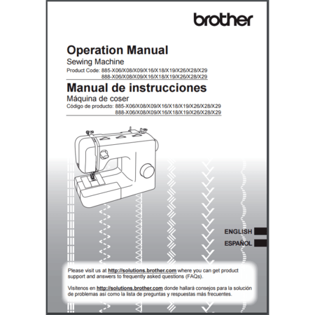 Instruction Manual, Brother LX2763