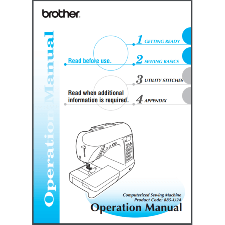 Instruction Manual, Brother PC660LA