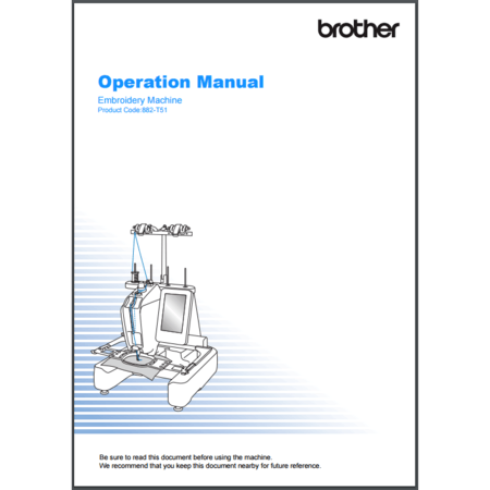Instruction Manual, Brother PRS100