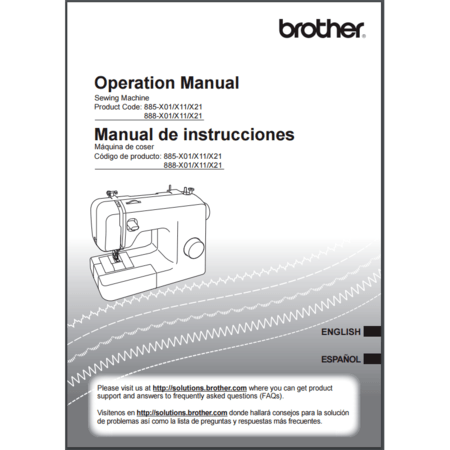 Instruction Manual, Brother SB170