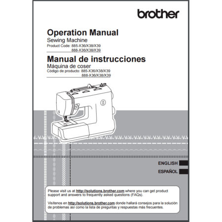 Instruction Manual, Brother SB530T