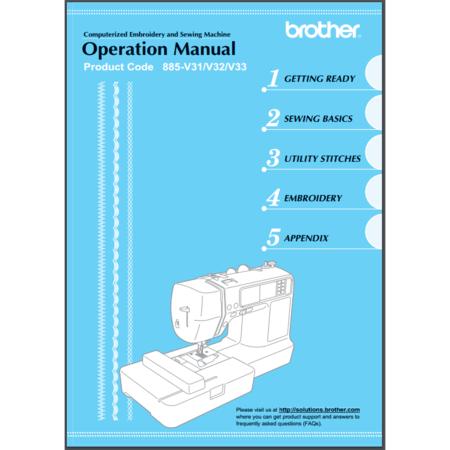 Instruction Manual, Brother SB7500
