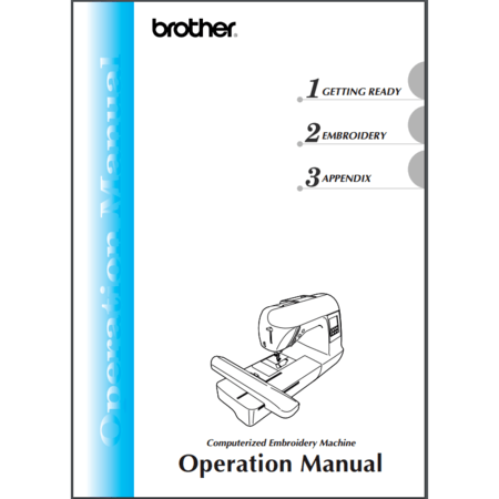 Instruction Manual, Brother SB7900E