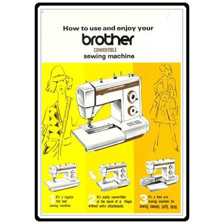 Instruction Manual, Brother XL-5001