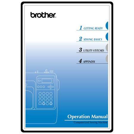 Instruction Manual, Brother Innovis 80