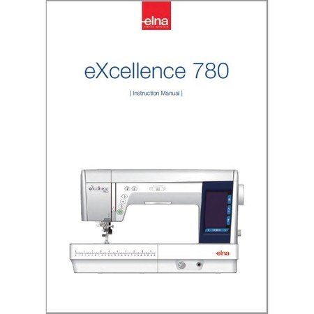 Instruction Manual Elna 40 EXcellence Sewing Parts Online Extraordinary Elna 780 Sewing Machine