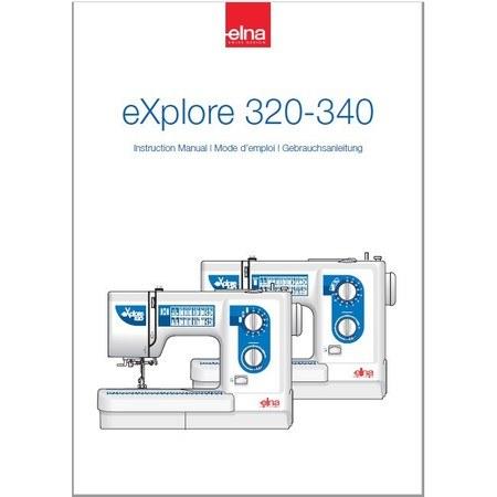 Instruction Manual, Elna eXplore 340