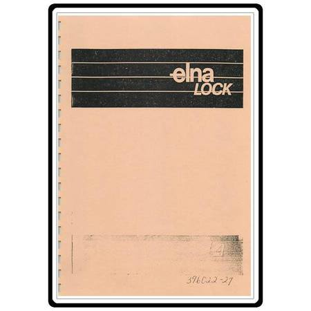 Instruction Manual, Elna L4 Serger