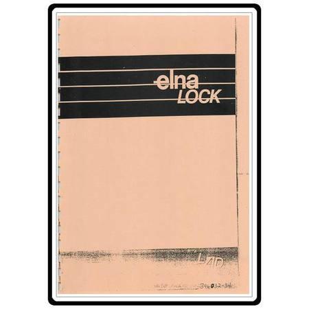Instruction Manual, Elna L4D Serger