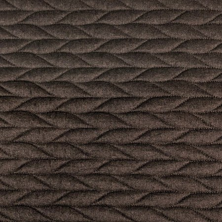 56in Pre-Quilted Fabric - Brown