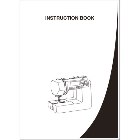 Instruction Manual, Janome 4120QDC-B