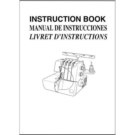 Instruction Manual, Janome 7933 Harmony
