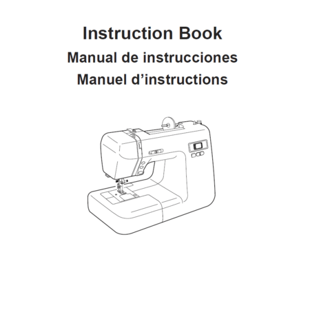 Instruction Manual, Janome DC2014