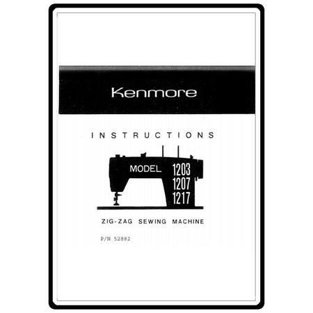 Instruction Manual, Kenmore 148.12170
