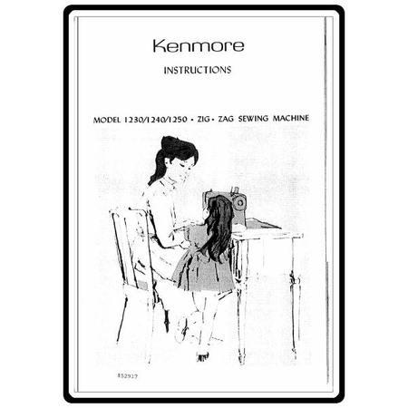 Instruction Manual, Kenmore 148.12501