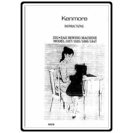 Instruction Manual, Kenmore 158.13570 Models