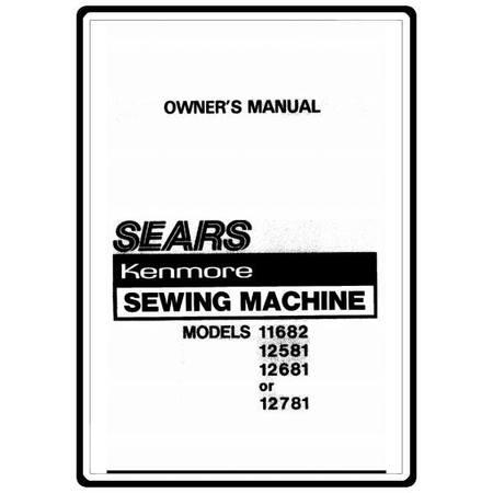 Instruction Manual, Kenmore 385.11682 Models