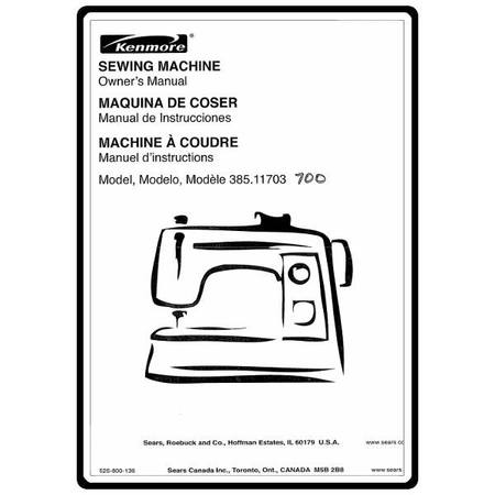 Instruction Manual Kenmore 4040 Sewing Parts Online Inspiration Kenmore Sewing Machine Parts Canada