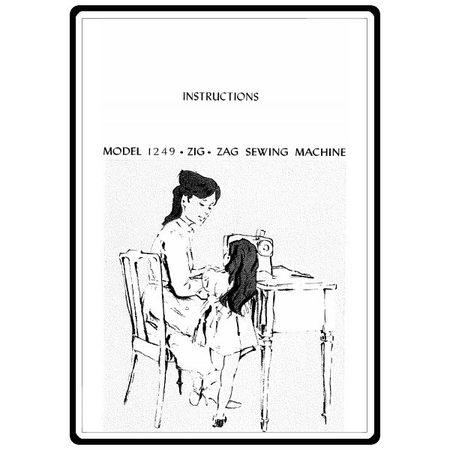 Instruction Manual, Kenmore 385.12491 Models