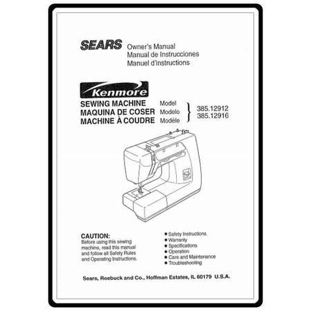 Instruction Manual Kenmore 4040 Models Sewing Parts Online Custom Sears Sewing Machine Parts