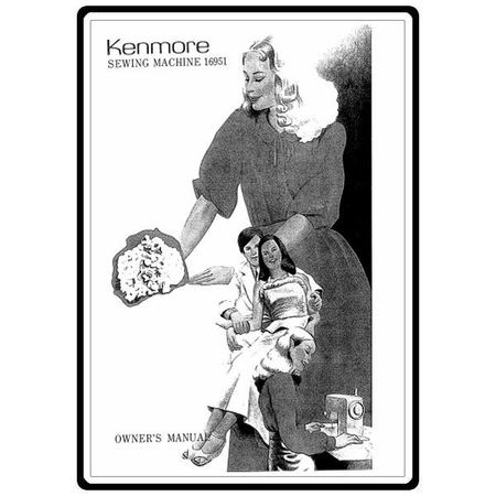 Instruction Manual, Kenmore 385.16951 Models
