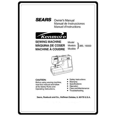 Instruction Manual Kenmore 4040 Models Sewing Parts Online Awesome Sears Sewing Machine Parts