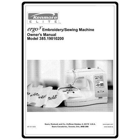 Instruction Manual Kenmore 4040 Models Sewing Parts Online Custom Kenmore Sewing Machine Model 385 Owners Manual